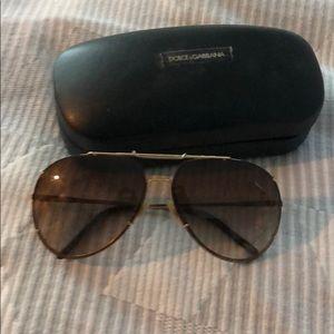 Dolce and Gabbana aviator sunglasses